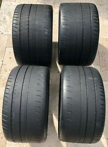 Set Of 4 Michelin Pilot Sport Cup 2 285 30zr19 335 25zr20 With Less Than 5 Miles