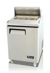 New Migali 27 Sandwich Prep Table Cooler C sp27 hc Free Shipping