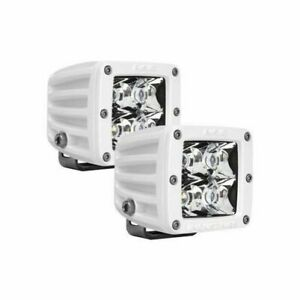 Rigid Industries 60221 M Series Dually Spot Offroad Led Light Surface Mount Pair