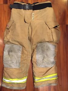 Firefighter Turnout Bunker Pants Globe 42x30 G Extreme 2006 Halloween Costume