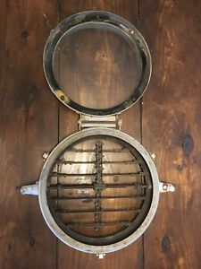 Antique Us Navy Wwii Ships Signal Light Shutter Device Morse Code S95313