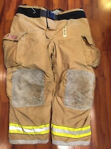 Firefighter Turnout Bunker Pants Globe 48x30 G Extreme 2006 Halloween Costume