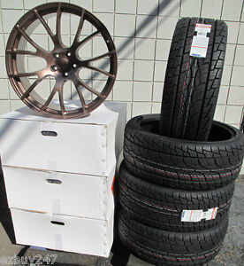 20 New Dodge Charger Srt Hellcat Style Copper Set Of Four Wheels Rims Tires