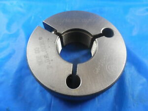 1 1 16 18 Unjef 3a Thread Ring Gage 1 0625 No Go Only P d 1 0228 Inspection