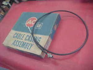 Nos Gm Ac Speedo Cable Casing Assembly 53 Long Chevy Olds Buick Pontiac Cadillac