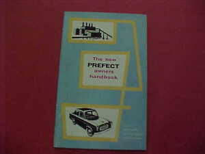 Nos Genuine Ford Prefect 59 60 Instruction Book Owners Handbook Repair Parts