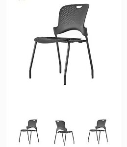 Herman Mill Caper Stacking Chairs