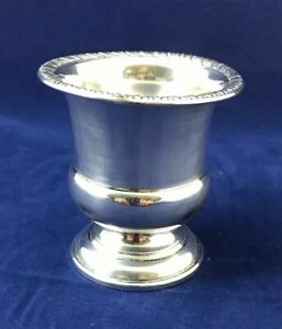 Vintage Web Sterling Silver Toothpick Holder Cigarette Urn