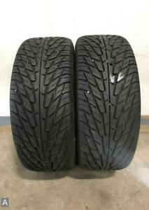2x P255 50r17 Nitto Nt450 Extreme Performance 9 10 32 Used Tires