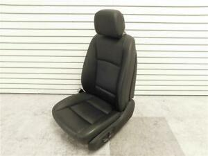 2013 Bmw 740i Front Left Seat W Comfort Black Leather Lcsw