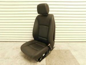 2013 Bmw 740i Front Right Seat W Comfort Black Leather Lcsw