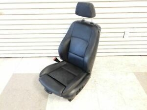 08 13 Bmw 135i Convertible Front Left Seat Sport Black Leather Lwsw
