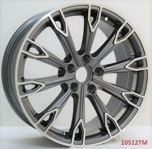 18 Wheels For Vw Jetta S Se Gli Hybrid 2006 Up 5x112 18x8