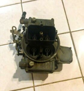 Holley 600 With Vacuum Secondaries 4160 List 6919