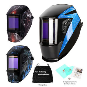 True Color Big View 4 x3 7 Pro Solar Welder Mask Auto darkening Welding Helmet