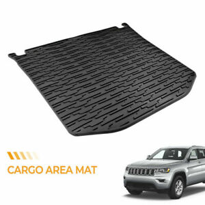 Tpe Cargo Trunk Tray Liner Floor Mat For 11 18 Jeep Grand Cherokee 82212085
