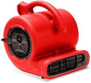 Air Mover 1 4 Hp Carpet Dryer Floor Blower Fan Home Built in Power Outlets