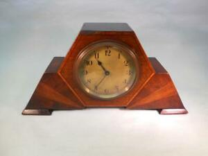 Antique French Small 8 Day Mantel Clock With Lever Movement