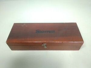 Starrett No 657 Magnetic Base With Swivel Post Assembly Seat
