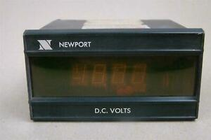 Newport Digital Dc Volt Meter 115vac 0 1 Amps 200as 3 A3 d2