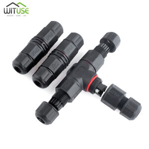 Outdoor Waterproof Electrical Terminal Wire Cable Joint Connector Adapter 2 3way
