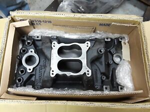 Power Solutions Small Block Chevy 350 5 7 Vortec Marine Intake Manifold