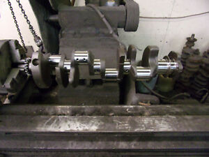 327 Chevrolet Crankshaft 1968 1969 Large Journal Forged Steel 4672
