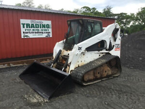 2008 Bobcat T320 Compact Track Skid Steer Loader W Cab High Flow Coming Soon