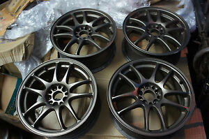 Jdm 16 Work Emotion Cr Kai Wheels Rims 5x100 Gc8 St205 Caldina Sti Impreza