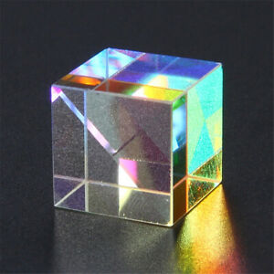 Beam Light Splitter Combiner Lens Cube Prism Dichroic Mirror Optical Glass