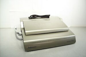 Fellowes Galaxy E 500 Electric Comb Wire Binder Crc 52178 Tested Working