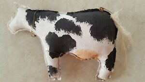 Primitive Cow Bowl Fillers Ornies Rustic Country Decor
