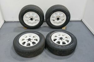 Enkei Off Road 15 Inch Wheels With Winter Tires For Honda Fitment
