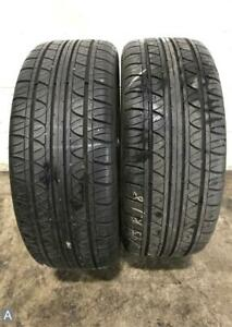 2x P235 45r18 Fuzion Touring 9 32 Used Tires