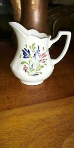 Johnson Brothers England Provincial Ironstone Small Floral Pitcher 5