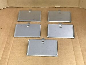 Thoren Horizontal Cage Card Holders 3 x5 For Laboratory Rodent Cages Lot Of 5