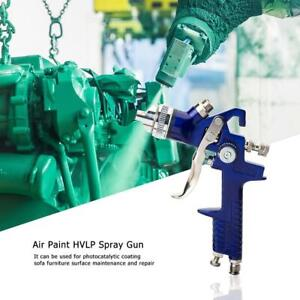 Pro 1 4mm 1 7mm Nozzle H827p Air Paint Hvlp Spray Gun Airbrush For Painting Car
