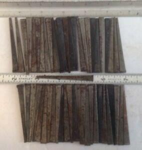 Vinyage Nos Barn Find 50 Ct 2 1 2 Rusted Square Cut Flat Head Nails