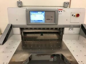 2007 Polar Model 92 Xt 36 Programmable Paper Cutter With Air Table