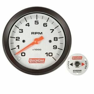 Quickcar Racing Products 611 6002 3 3 8 Tachometer With Remote Recall