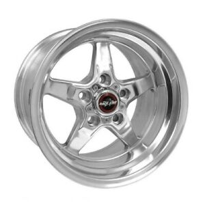 Race Star 92 510152dp Wheel 15x10 92 Drag Star For Ford Polished