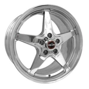 Race Star 92 805154dp Wheel 18x10 5 92 Drag Star For Ford Polished