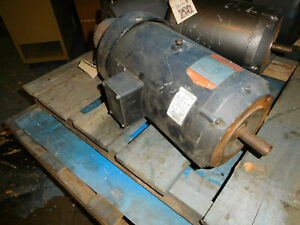 Fincor 9215018tfp Electric Dc Motor 1 1 2hp 1750 Rpm