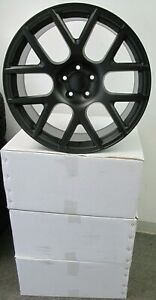 20 Factory Style 20x9 Dodge Charger Scat Pack Satin Black Set Of 4 Wheels Rims