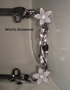 Flower License Plate Frame In Stock Ready To Ship Wv Classic Car