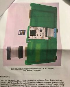 Emu 1 Solid State Floppy Disk Emulator For Cnc 6 Controller 416602 01