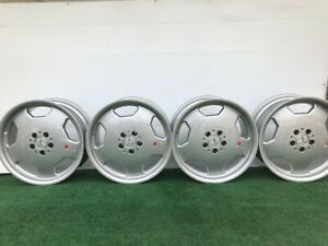 Rare Mercedes Benz E55 Amg Monoblock 18 Genuine Factory Oem Wheels Rims Set