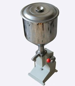 Manual Filling Machine Filler For Cream Shampoo Cosmetic Lube Fluid Food A03