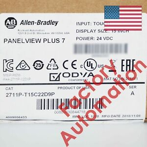 2019 Us Stock Allen bradley Panelview Plus 7 Graphic Terminal 2711p t15c22d9p