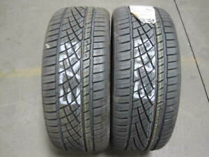 2 Continental Extreme Contact Dws06 Sport Plus 205 55 16 New Tires E733